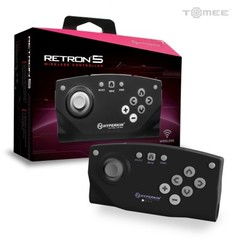 Bluetooth Wireless Controller for RetroN 5 (Black) - Hyperkin