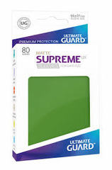 Ultimate Guard Card Sleeves:Supreme UX ‑ Matte Green (80) - Standard