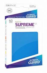 Ultimate Guard Supreme UX Sleeves Japanese Size Matte Royal Blue 60ct