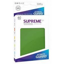 Ultimate Guard Supreme UX Sleeves Japanese Size Green 60ct