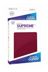 supreme ux sleeves small size matte burgundy (60)