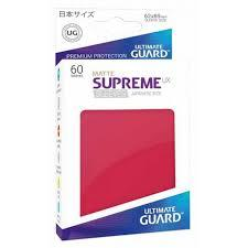 Ultimate Guard-Supreme UX Sleeves Mini Red 60ct