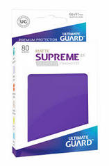 Ultimate Guard Card Sleeves: Supreme UX ‑ Matte Purple (80)
