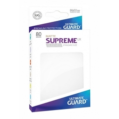 Ultimate Guard Card Sleeves: Supreme UX ‑ Matte White (80)