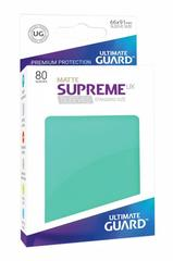 Ultimate Guard Card Sleeves: Supreme UX ‑ Matte Turquoise (80)