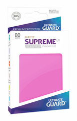 Ultimate Guard Card Sleeves: Supreme UX ‑ Matte Pink (80)