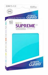 Ultimate Guard 60 Supreme Sleeves Small UX Aquamarine