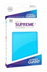 Ultimate Guard Card Sleeves: Supreme UX ‑ Matte Light Blue (80)