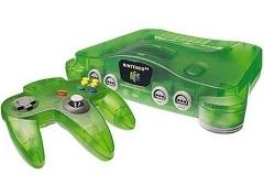 Nintendo 64 Jungle Green