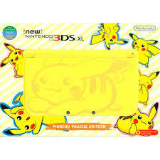 New Nintendo® 3DS XL Pikachu Yellow Edition