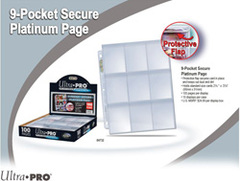 Clear 9 Pocket: Secure Top Pages (Ultra Pro)