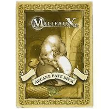 Malifaux: Arcane Fate Deck - White