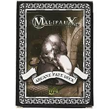 Malifaux: Arcane Fate Deck - Black