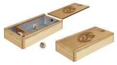 Premium Wood Dice Box: The Ark