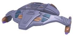 Star Trek: Attack Wing - Dominion 5th Wing Patrol Ship (Repaint)