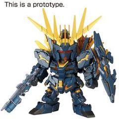 Gundam SD Ex-Standard: RX-0 Unicorn Gundam 02 Banshee Norn - Destroy Mode