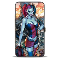 Harley Quinn: Hinged Wallet - Hot in the City