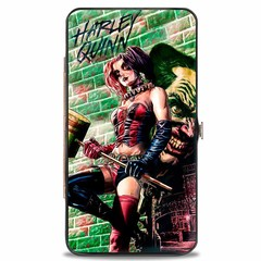 Harley Quinn: Hinged Wallet - Hammer Pose
