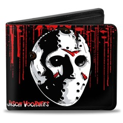 Friday The 13th: Bi-Fold Wallet - Jason Voorhees Mask