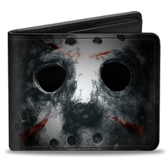 Friday The 13th: Bi-Fold Wallet - Jason Voorhees Up Close