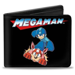 Mega Man: Bi-Fold Wallet - Mega Man and Rush