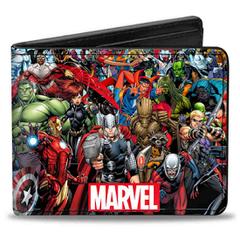 Marvel Universe: Bi-Fold Wallet - Group