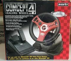 Concept 4 Racing Wheel: N64