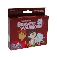 Bravest Warriors Co-operative Dice Game - Red Deck