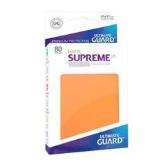 Ultimate Guard Card Sleeves: Supreme UX ‑ Matte Orange (80)