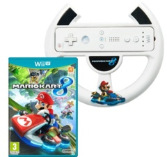 Mario Kart 8 w/ Mario Kart 8 Steering Wheel