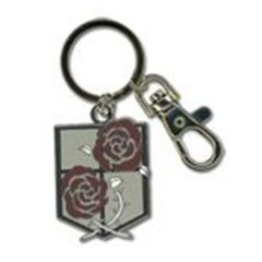 Double Rose Pendant Key Chain (Attack on Titan)