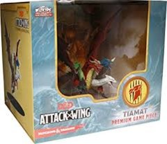 D&D Attack Wing Premium Game Piece Tiamat