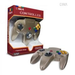 Cirka Gold Controller (Nintendo 64 N64)