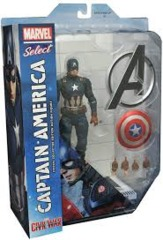 Captain America Civil War: Captain America (Marvel Select)