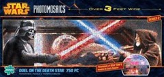 Star Wars Duel on the Death Star 750 piece Photomosaics Panoramic Puzzle