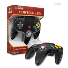Cirka Black Controller (Nintendo 64 N64)