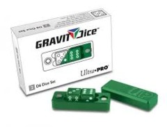 Gravity Dice 2 D6 Dice Set - Emerald (Ultra Pro)