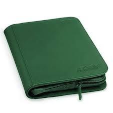 Green 4-Pocket ZipFolio Binder (Ultimate Guard)