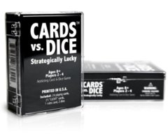 Cards Vs. Dice: Strategically Lucky
