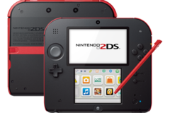 Nintendo 2DS System Red