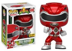 #406 - Power Rangers: Red Ranger Hot Topic Exclusive