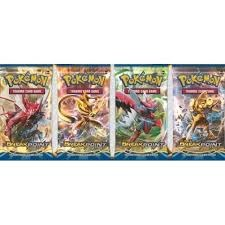 XY BREAKPoint Booster Pack