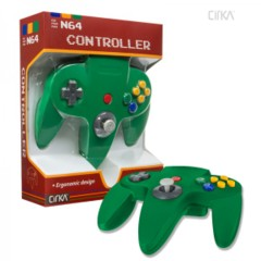 Cirka Green N64 Controller