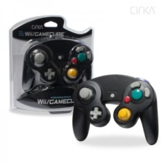 Cirka Black Wii/Gamecube Controller - Wired