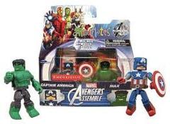 Captain America + Hulk - Avengers Assemble (Marvel)