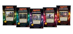 Commander Deck - Set of Five - 2016