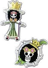 One Piece: Brook Pin Set