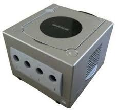 Gamecube Silver - Original Parts (Nintendo)