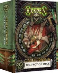 Circle Orboros 2016 Faction Deck - Hordes