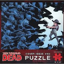The Walking Dead - Cover Issue 50 (Puzzle) - 550 Pc